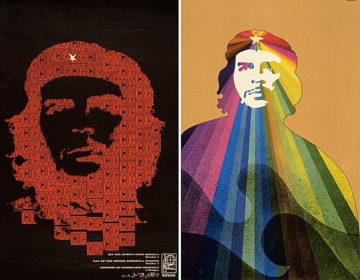 плакаты Организации Солидарности Народов Азии, Африки и Латинской Америки (Organización de Solidaridad con los Pueblos de Asia, Africa y América Latina, OSPAAAL)