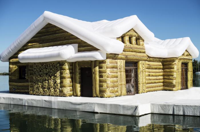 Кусочек снежной зимы в Майами-Бич