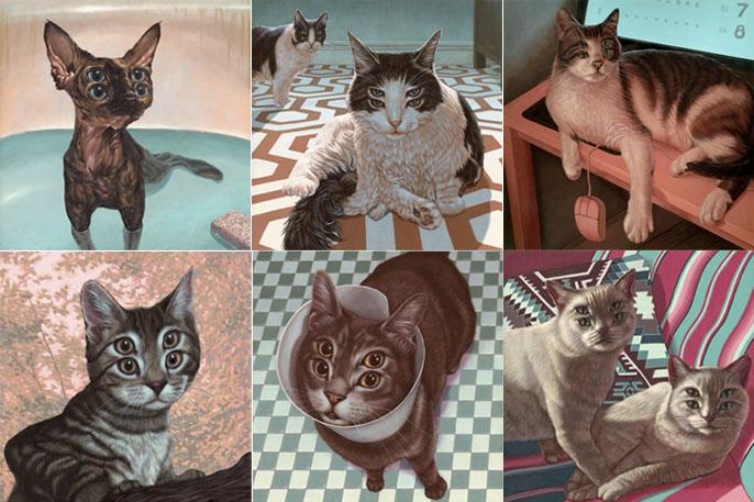 Серия «Meow Brow» Кейси Велдона