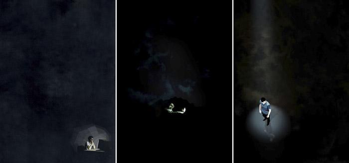 Белхула Амир (Belhoula Amir), серия «Один в ночи» («Alone in the night»)