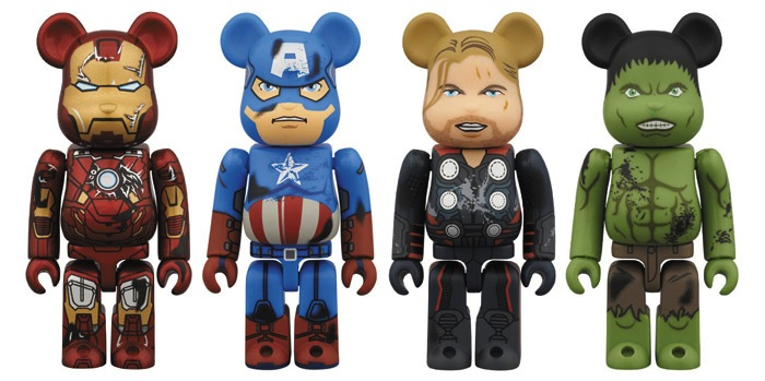 """Коллекция игрушечных медведей """"Avengers"""""""