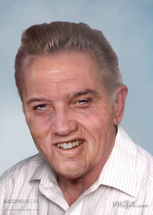 Элвис Пресли, «Король рок-н-ролла». Умер в 42 года от передозировки таблеток