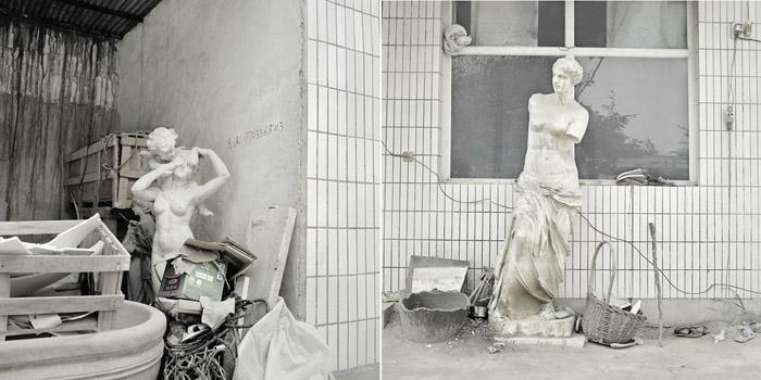 «Деревня скульпторов»: фотопроект Кьяры Гойи (Сhiara Goia)