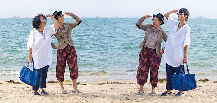 «Весна-осень» Кью Квозопа (Cue Qozop). Мать и дочь из Китая