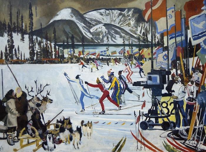 А.Н. Блиок, Праздник Севера в Кировске, 1972