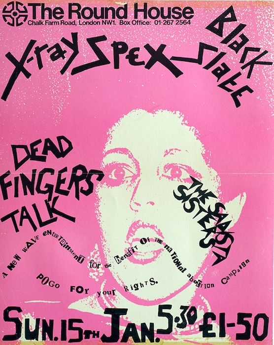 Poly Styrene, X-Ray Spex at The Round House, 1978