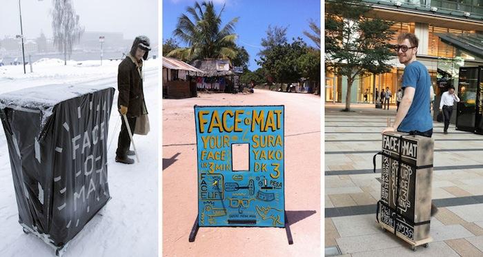 Альтернативная фотобудка Face-o-mat  Тобиаса Гутмана