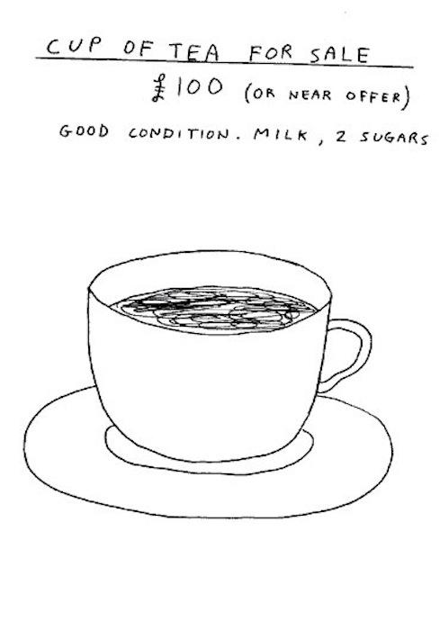Продается чашка чаю. 100 фунтов (торг уместен). В хорошем состоянии, молоко, 2 ложки сахара