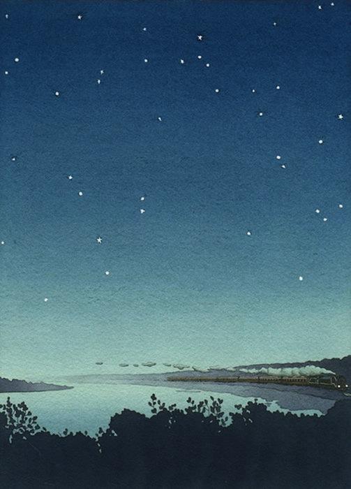 Ян Нашимбене (Yan Nascimbene). Иллюстрация к книге Итало Кальвино