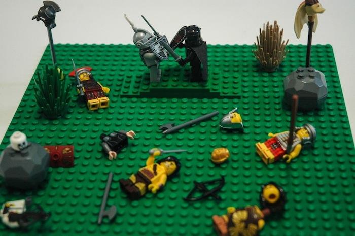 Артур против Мордреда