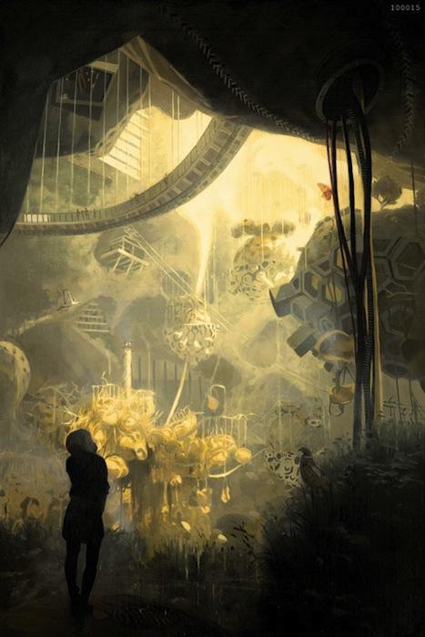 О'Лири и Вонг скрещивают волшебную сказку с научной фантастикой