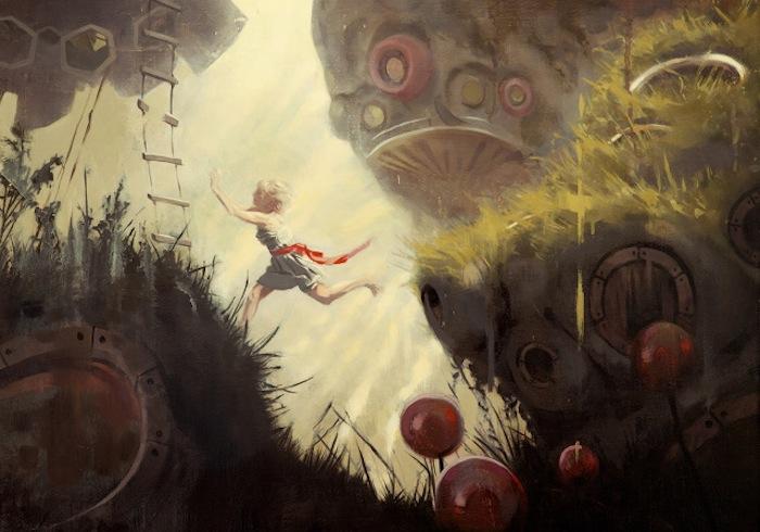 «Тринадцатая глава» Кевина Вонга (Kevin Wang) и Николаса О'Лири (Nicholas O'Leary), фрагмент иллюстрации