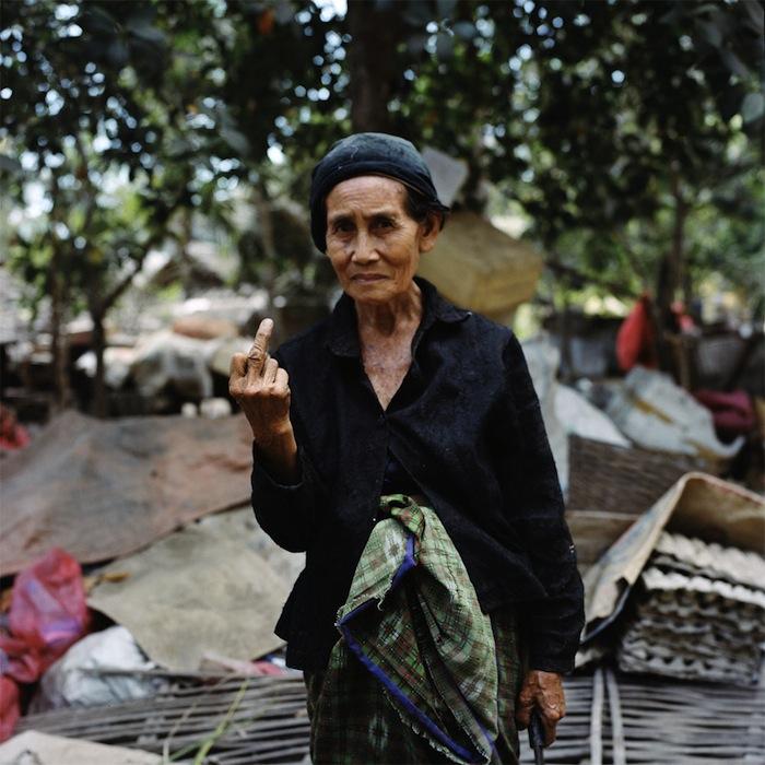 «Проклятый турист» на Бали, 2009