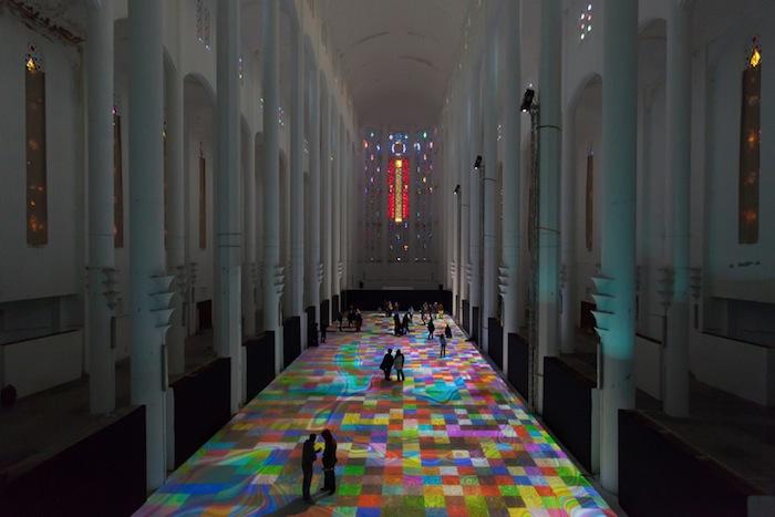 «Волшебные ковры 2014» (Magic Carpets 2014) Мигеля Шевалье