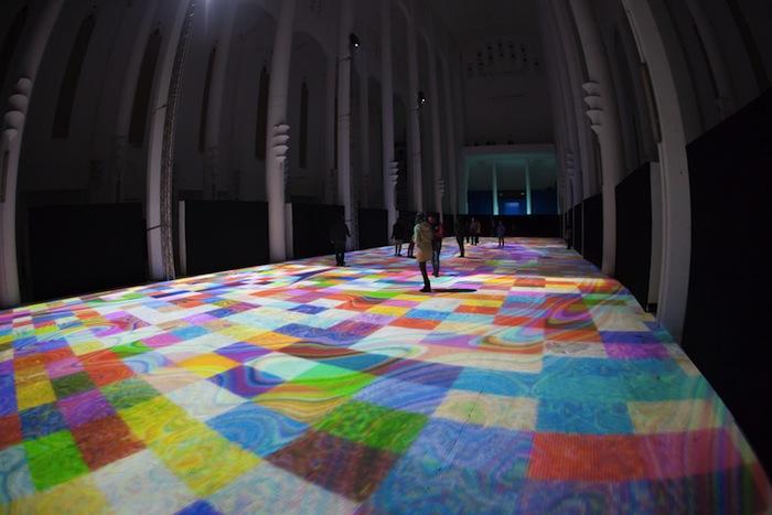 «Волшебные ковры 2014» в церкви Сакре-Кёр