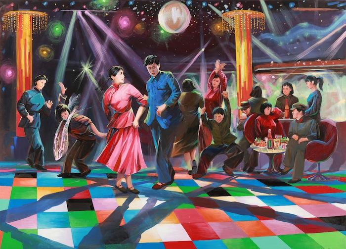 «Ночная дискотека - чудесное завершения дня» (Disco Night to Enhance the Day»)