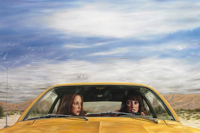 Эрик Уайт, «1973 Ford Pinto with Tanguy Sky (3 Женщины)»