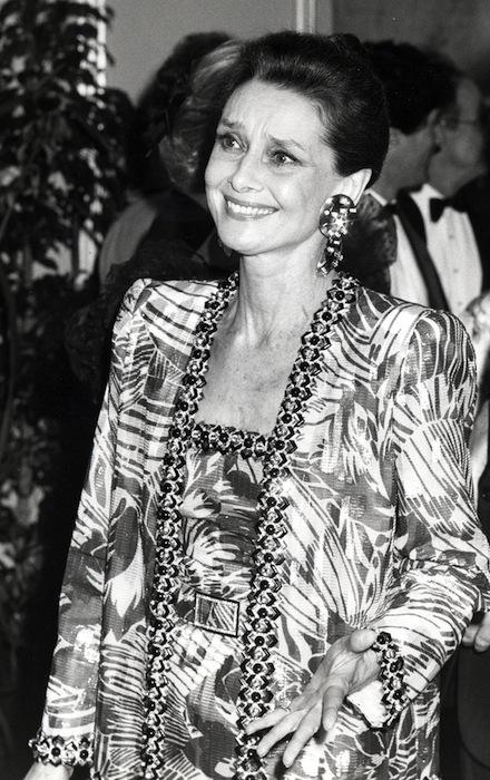 Одри Хепбёрн (Audrey Hepburn), 1986