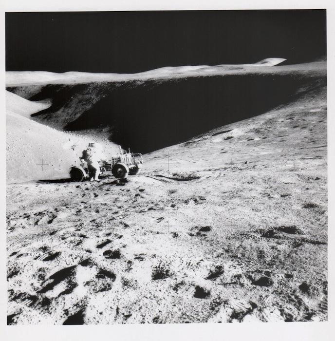 James Irwin, Дэвид Скотт и луноход, Apollo 15, август 1971
