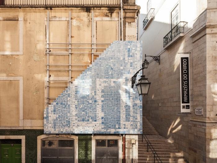 Инсталляция «Horror Vacui» в Лиссабоне