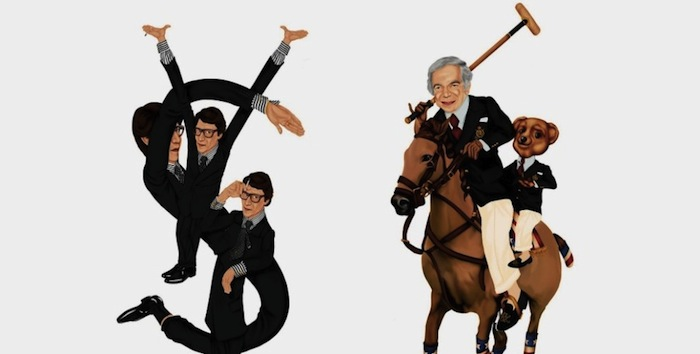 «Логотипы Майка Фредерико» («Logos by Mike Frederiqo»): Ив Сен-Лоран