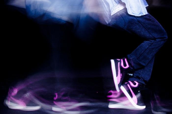 «Отпечатки танца» позволяют рассмотреть, как происходит этот переход