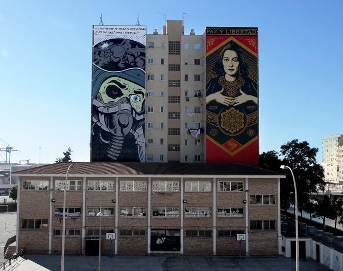Фрэнк Шепард «Обей»: «Мир и свобода» («Paz Y Libertad». Малага, Испания)
