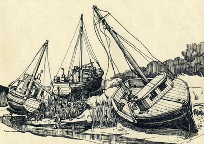 Сильвия Плат, «Рисунки» («Drawings»)