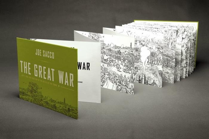 «Великая война» («The Great War») Джо Сакко (Joe Sacco)