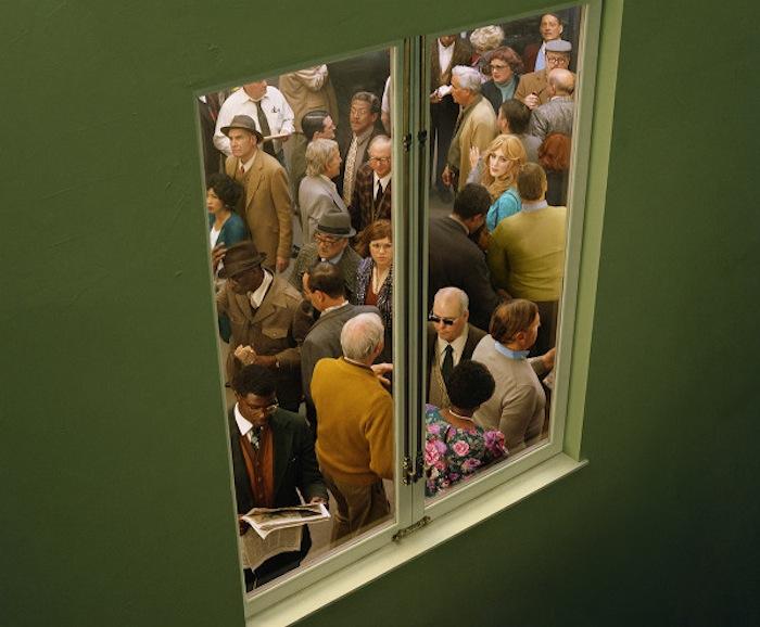 Серия фотографий «Лицо в толпе» («Face in the Crowd») Алекс Прэйгер (Alex Prager)