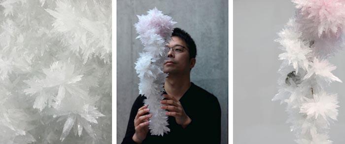 Токуджин Йошиока и его кристаллы