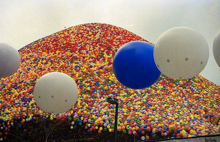 «Balloonfest '86» в Кливленде на фотографиях Тома Шеридана (Thom Sheridan)