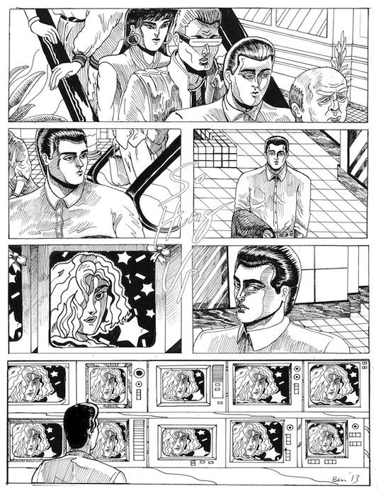 «So Hung Up». Комикс для издания Lumpen