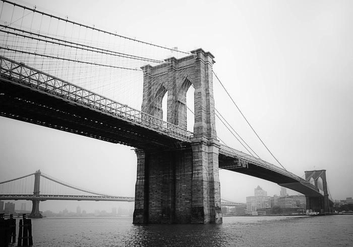Фотография моста, послужившая основой проекта.