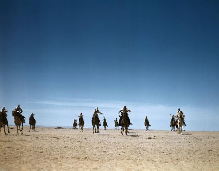 Верблюжьи войска на маневрах в пустыне, Тунис, 1943