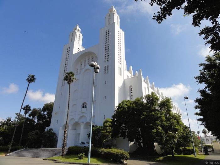 Церковь Сакре-Кёр в Касабланке