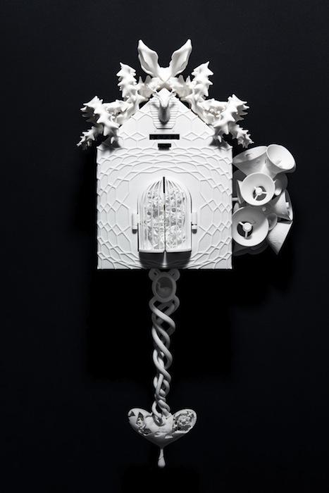 Часы Cuckoo Project создавались специально для выставки 3D PrintShow в Лондоне
