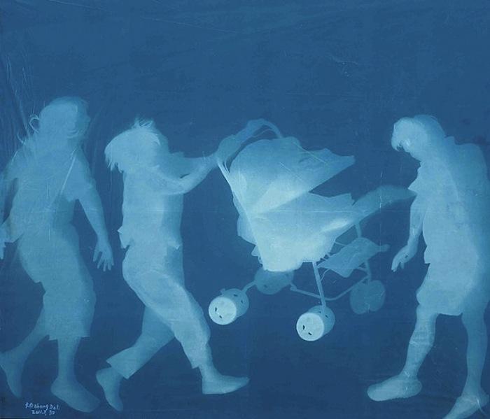 «World's Shadows» («Тени Мира») Чжана Дали (Zhang Dali)