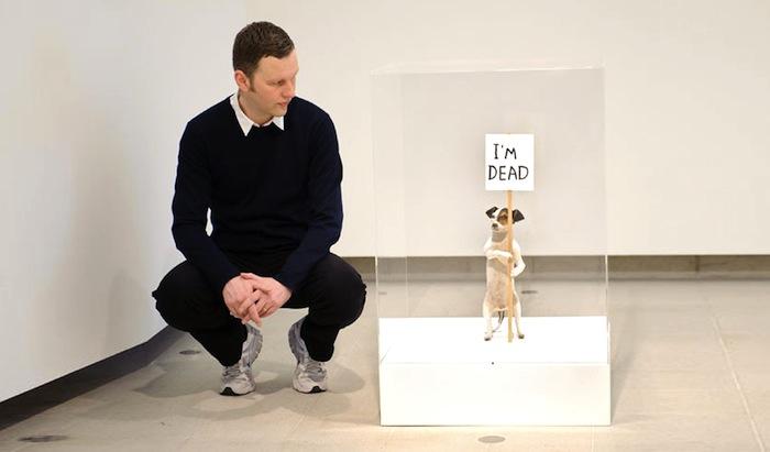Дэвид Шригли и его скульптура