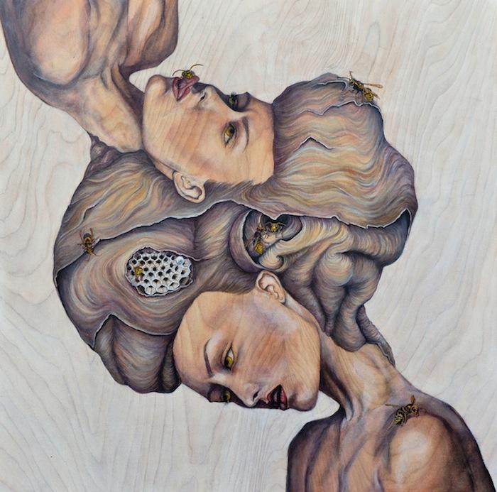 Сюрреалистичные женские портреты Эмили Флинт (Emily Flint)