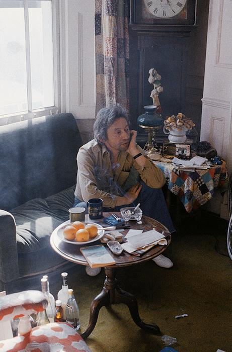 Генсбур в гостях у Джейн на Чейн Роу, 1978