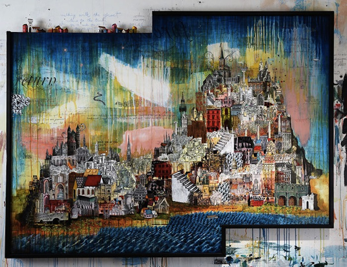Мастерская художника - лучшее свидетельство его одержимости изображениями домов