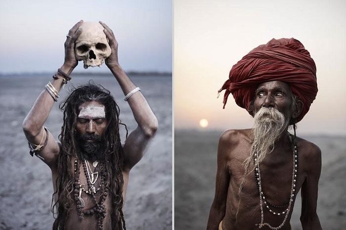 Агхори практикуют множество ритуалов связанных со смертью