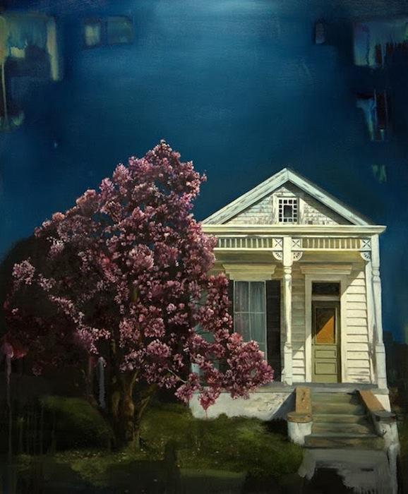 Живопись Смола сочетает точность реализма с легким ощущением ирреальности пейзажа
