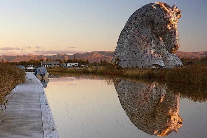 «Келпи» (The Kelpies) шотландского скульптора Энди Скотта