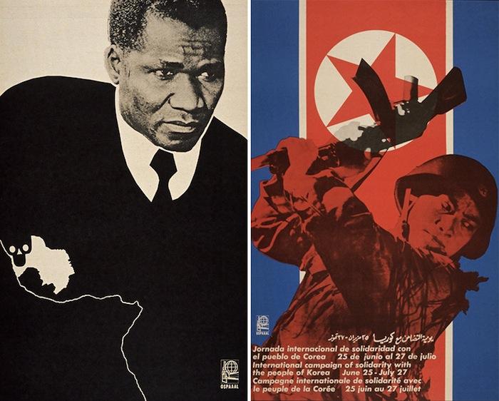 Наперекор соцреализму советской и китайской коммунистической пропаганды, в представлении Кастро, революция должна была стать гимном интернационализму