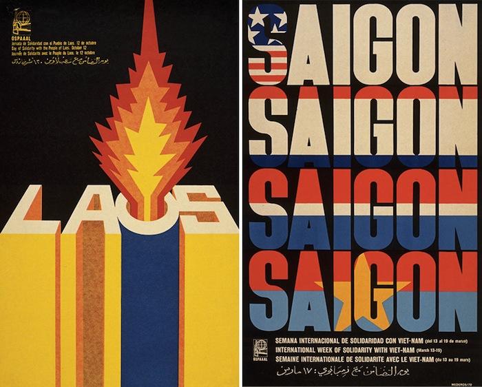 Большинство из плакатов были вложены в квартальный журнал организации OSPAAAL