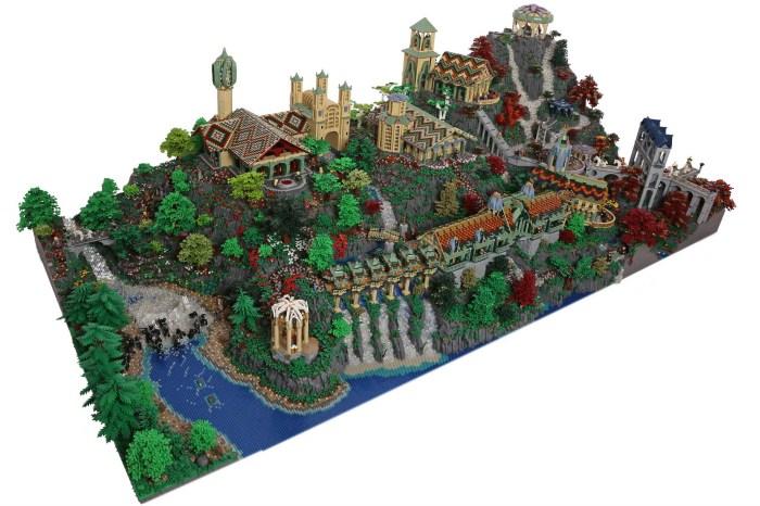 Ривенделл из конструктора Лего