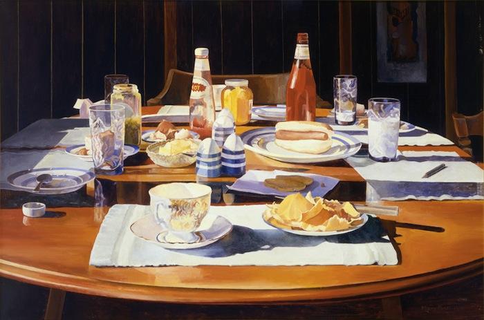 Mary Pratt, Supper Table, 1969