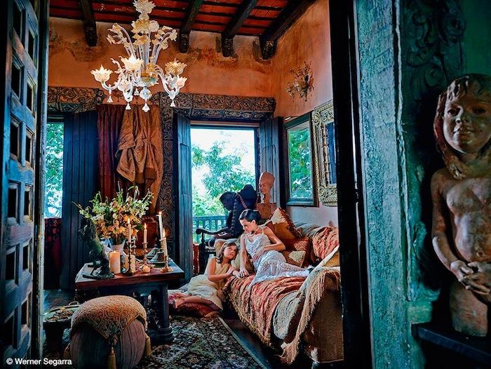 Вернера Сегарра посвятил проект своей стране, родному народу и важной части их культурного наследия -  производству кофе